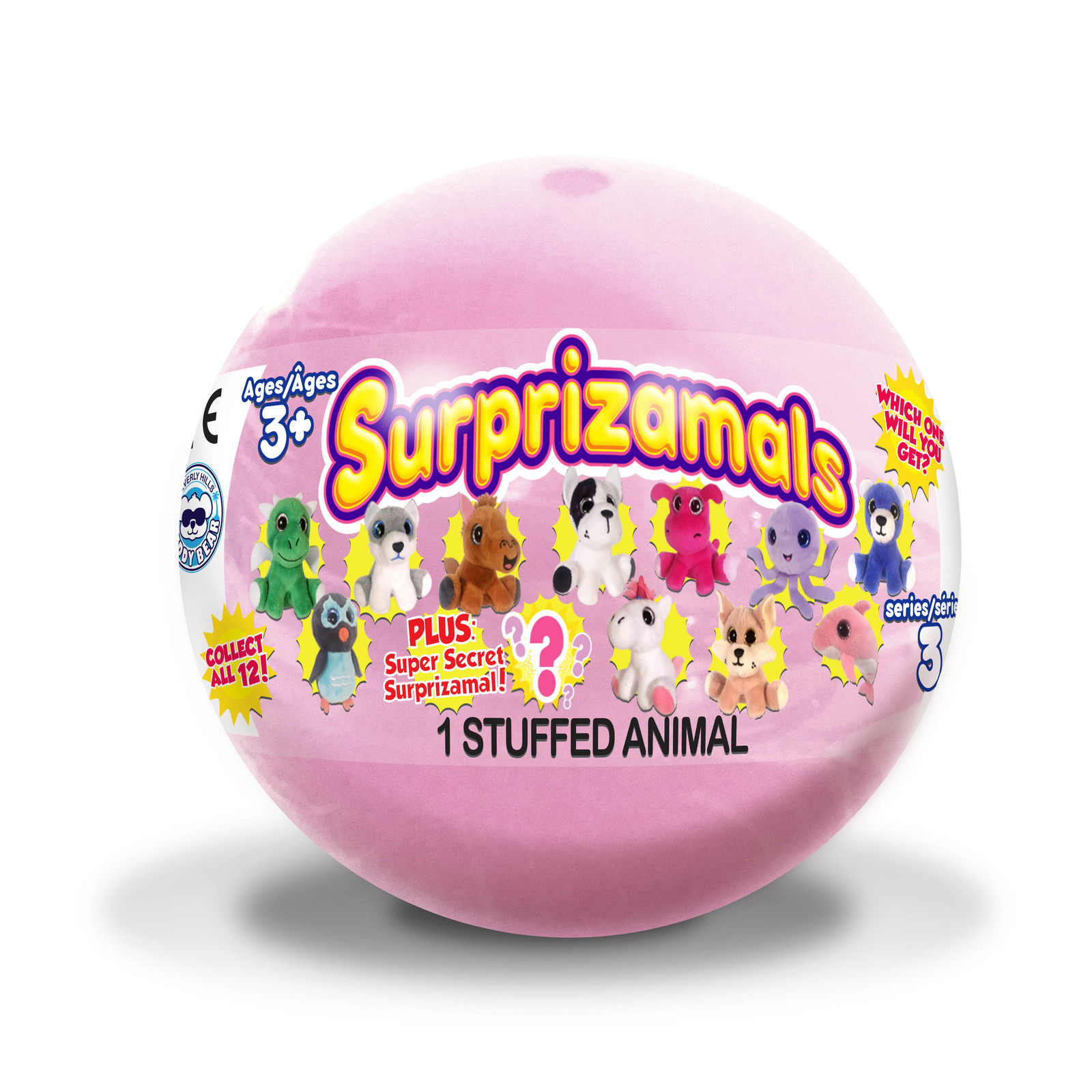 "Surprizamals: Cuties 2.5"" Plush - Series 3 (Blind Bag) image"