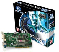 Sapphire Radeon Video Card 9250 128MB AGP VIVO image