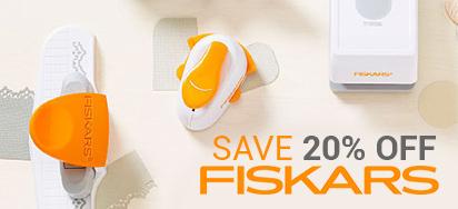 20% off Fiskars