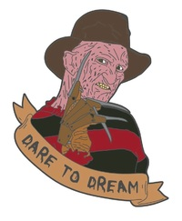 Nightmare on Elm Street: Dare to Dream - Enamel Pin
