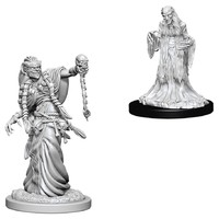 D&D Nolzurs Marvelous: Unpainted Miniatures - Green Hag & Night Hag