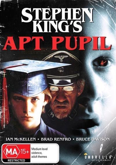 Stephen King's Apt Pupil on DVD