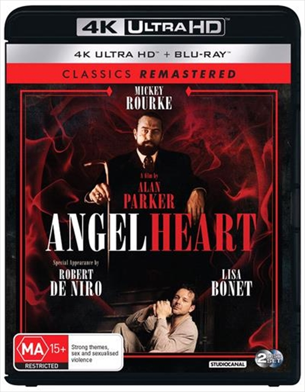 Angel Heart (2 Disc Set) on Blu-ray, UHD Blu-ray