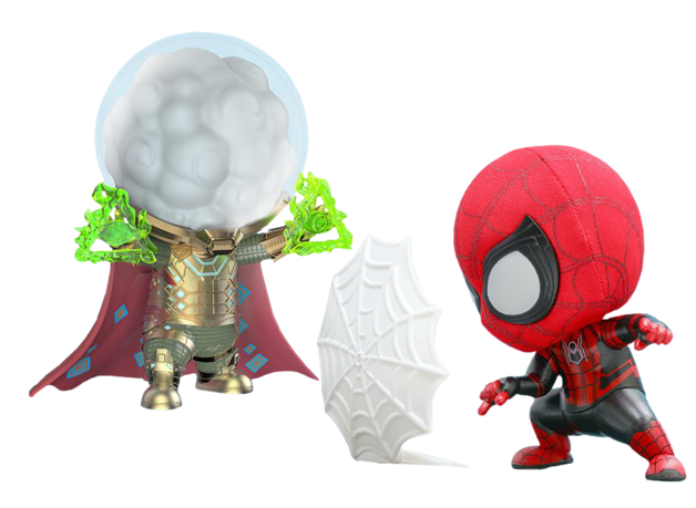 Spider-Man: Far From Home - Spider-Man & Mysterio - Cosbaby Figure Set
