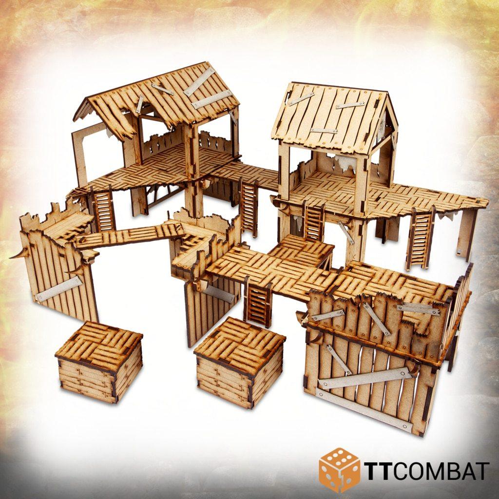 TTCombat - Savage Domain: Barbarian Encampment image