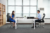 Gorilla Office: Workstation - White (890 x 590mm) image