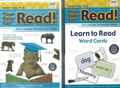 Your Baby Can Read, Starter: DVD and Word Card Blister Pack by Robert Titzer image