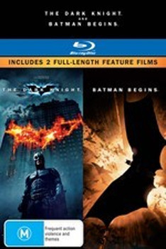 The Dark Knight / Batman Begins - Double Pack Blu-ray (2 Disc Set) on Blu-ray