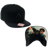 Harry Potter Snap Back Cap Deathly Hollows