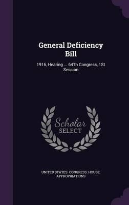 General Deficiency Bill