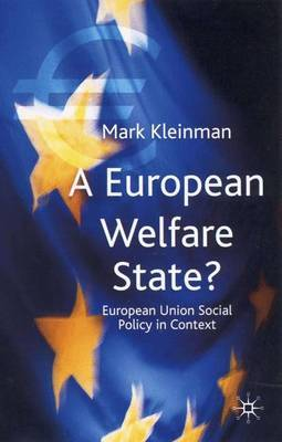 A European Welfare State? by Mark Kleinman image