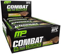 MusclePharm Combat Crunch Bars - Chocolate Peanut Butter Cup (12 x 63g)