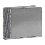 Stewart/Stand Stainless Steel Bill Fold Wallet - (Straight) Silver