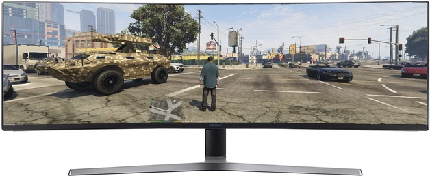 "49"" Samsung 1080p 144hz FreeSync Super Ultra Wide Gaming Monitor"