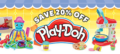 20% off Play Doh!