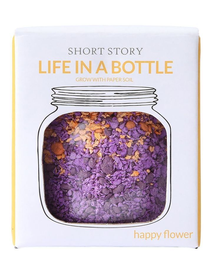 Short Story: Life in a Bottle - Purple image
