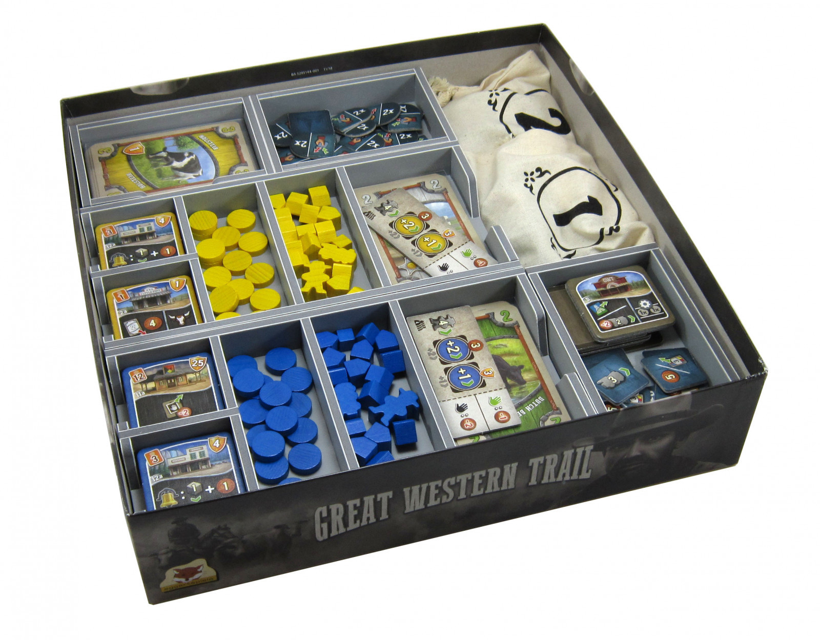 Folded Space: Game Inserts - Great Western Trail (V2) image