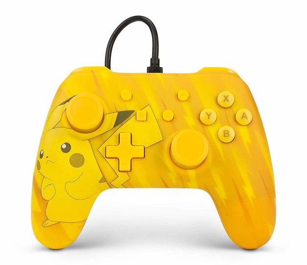 Nintendo Switch Wired Controller - Tonal Pikachu for Switch