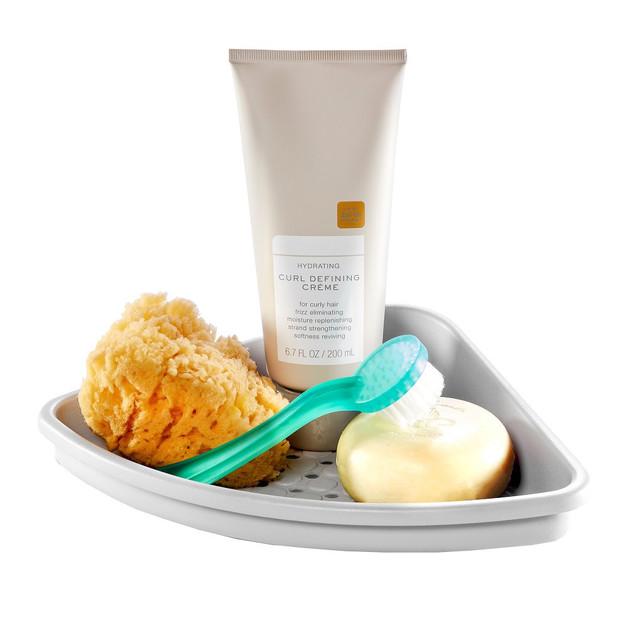 Madesmart: Bathtub Corner Shelf