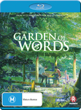 The Garden of Words on Blu-ray