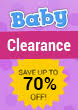 Baby Clearance Sale
