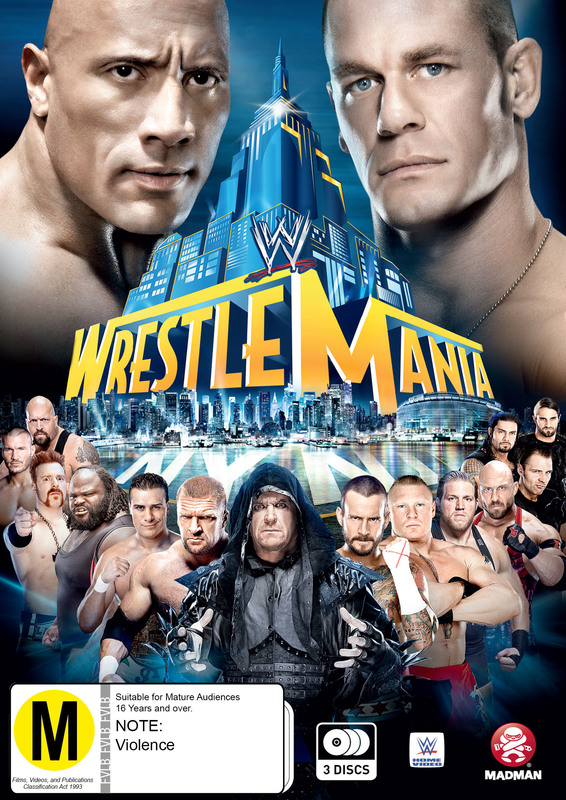 WWE - Wrestlemania 29 on DVD