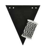 Kaisercraft Chalkboard Pennant Bunting Kit (14 sheets)