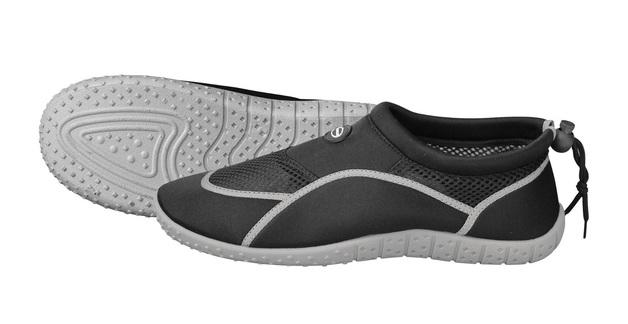 Mirage: B019 Junior Aquashoe - Black/Grey (Size 9-11)