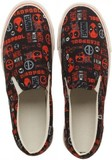 Marvel Deadpool Unisex Deck Shoes (Size 11)