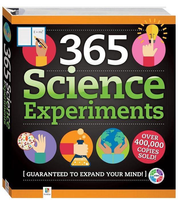 365 Science Experiments (flexibound)
