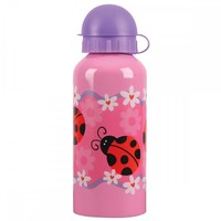 Stephen Joseph Stainless Steel Water Bottle - Ladybug
