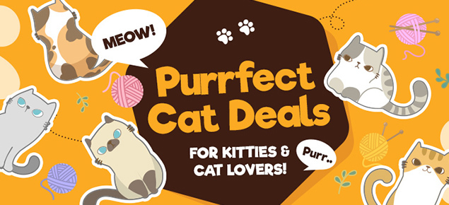 Purrfect Cat Deals!
