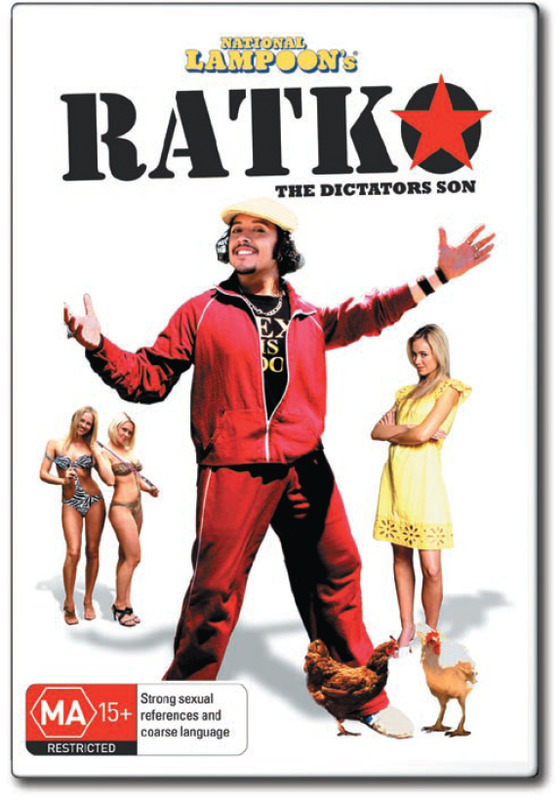 National Lampoon's Ratko: The Dictator's Son on DVD
