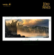 Lord of the Rings - Weta The Argonath: Pillars of the Kings 23'' Art Print