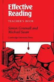 Effective Reading Teacher's book by Simon Greenall