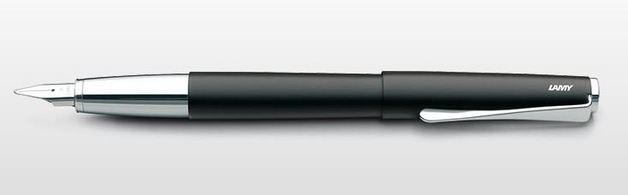 Lamy studio Fountain Pen - Black (Medium)