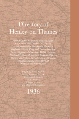 Directory of Henley-on-Thames 1936