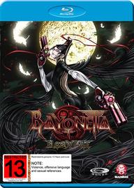 Bayonetta: Bloody Fate on Blu-ray