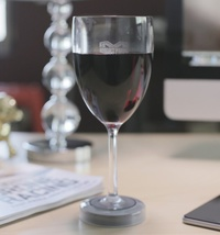 Mighty Wine Glasses - Stop Spilling Your Drink