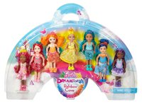 Barbie: Rainbow Cove Dolls - 7-Pack Set