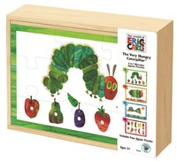 Eric Carle - Very Hungry Caterpillar 4-in-1 Wooden Puzzle image