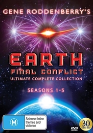 Earth Final Conflict Ultimate Complete Collection on DVD image