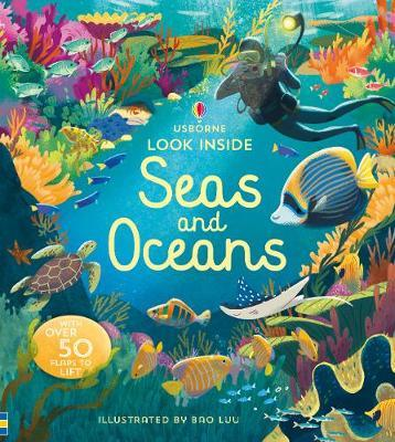 Look Inside Seas and Oceans by Megan Cullis