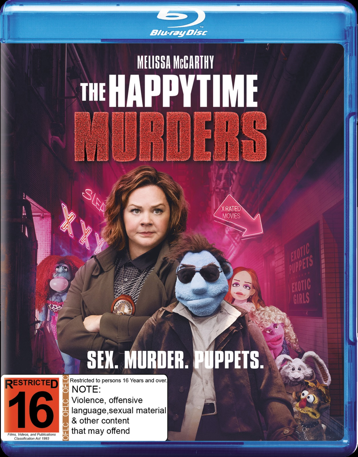 The Happytime Murders on Blu-ray image
