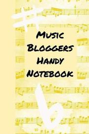 Music Bloggers Handy Notebook by Emily Scott