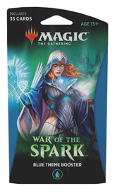 Magic The Gathering: War of the Spark Theme Booster- Blue image