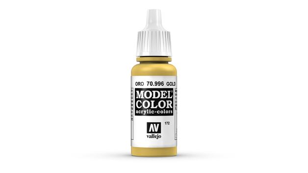 Vallejo Model Colour Gold 17ml