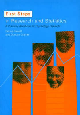 First Steps In Research and Statistics by Dennis Howitt image