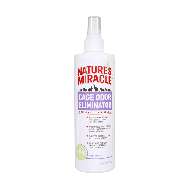 Nature's Miracle: Cage Odor Eliminator for Small Animals - 473ml