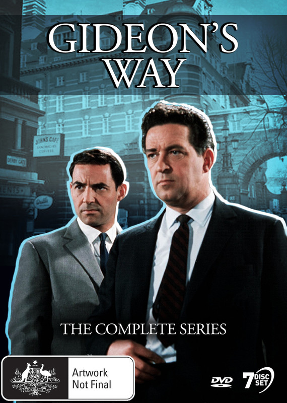 Gideon's Way: The Complete Series on DVD